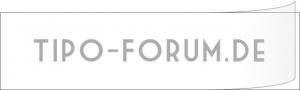 Tipo-Forum.de Aufkleber