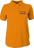 stilo.info Polo-Girly-Shirt orange/blau