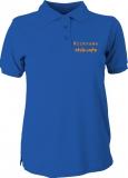 stilo.info Polo-Girly-Shirt blau/orange