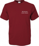 Fiat500-Forum.de T-Shirt rot/grau