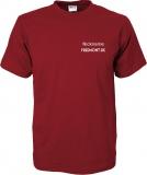 Freemont.de T-Shirt rot/grau