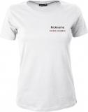 Fiat500-Forum.de Girly-Shirt weiß/schwarz