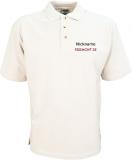 Freemont.de Polo-Shirt weiß/schwarz