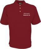Freemont.de Polo-Shirt rot/grau
