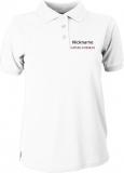 Fiat500-Forum.de Polo-Girly-Shirt weiß/schwarz