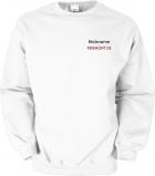 Freemont.de Sweater weiß/schwarz