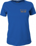 stilo.info Girly-Shirt blau/orange