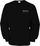Freemont.de Sweater schwarz/weiß