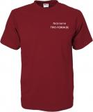 Tipo-Forum.de T-Shirt rot/grau