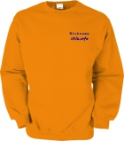 stilo.info Sweater orange/blau