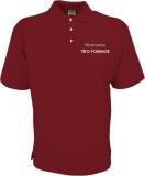 Tipo-Forum.de Poloshirt rot/grau