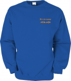 stilo.info Sweater blau/orange
