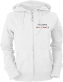 Tipo-Forum.de Ladies Hooded Jacket weiß/schwarz