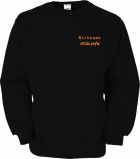 stilo.info Sweater schwarz/orange