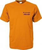 stilo.info T-Shirt orange/blau