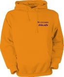 stilo.info Hooded Sweater orange/blau