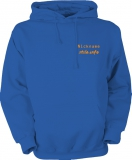 stilo.info Hooded Sweater blau/orange