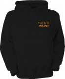 stilo.info Hooted Sweater schwarz/orange