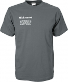 NJF.FUN T-Shirt (Dark Grey/white)