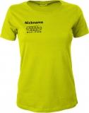 NJF.FUN Girly-Shirt (Acid Yellow/black)