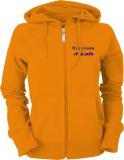 stilo.info Ladies Hooded Jacket orange/blau