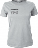 NJF.FUN Girly-Shirt (Light Grey/black)