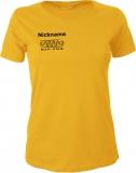 NJF.FUN Girly-Shirt (Gold Yellow/black)