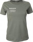 NJF.FUN Girly-Shirt (Olive/white)