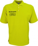 NJF.FUN Poloshirt (Acid Yellow/black)