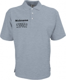 NJF.FUN Poloshirt (Grey-Heather/black)