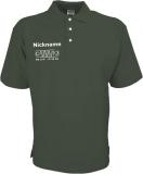 NJF.FUN Poloshirt (Olive/white)