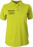 NJF.FUN Polo-Girly-Shirt (Acid Yellow/black)