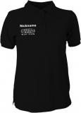 NJF.FUN Polo-Girly-Shirt (Black/white)