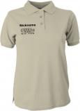 NJF.FUN Polo-Girly-Shirt (Stone/black)
