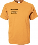 NJF.FUN T-Shirt (Orange/white)
