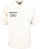 NJF.FUN Poloshirt (White/black)