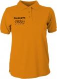 NJF.FUN Polo-Girly-Shirt (Orange/black)