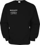 NJF.FUN Sweater (Black/white)