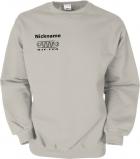 NJF.FUN Sweater (Stone/black)