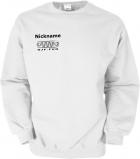 NJF.FUN Sweater (White/black)