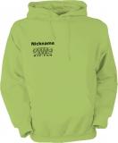 NJF.FUN Hooded Sweater (Lime-Green/schwarz)