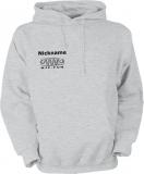 NJF.FUN Hooded Sweater (Grey Heather/black)