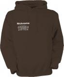 NJF.FUN Hooded Sweater (Brown/white)