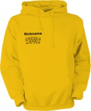 NJF.FUN Hooded Sweater (Gold-Yellow/black)