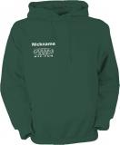NJF.FUN Hooded Sweater (Dark-Green/white)