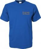 Fiat-Bravo.info T-Shirt blau/orange