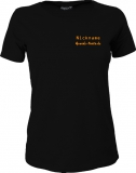 Grande-Punto.de Girly-Shirt schwarz/orange