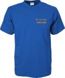 stilo.info T-Shirt blau/orange