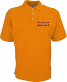 Grande-Punto.de Polo-Shirt orange/blau