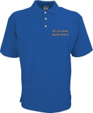 Grande-Punto.de Polo-Shirt blau/orange